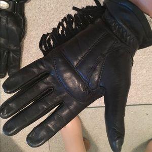 Harley-Davidson fringe gloves women size small